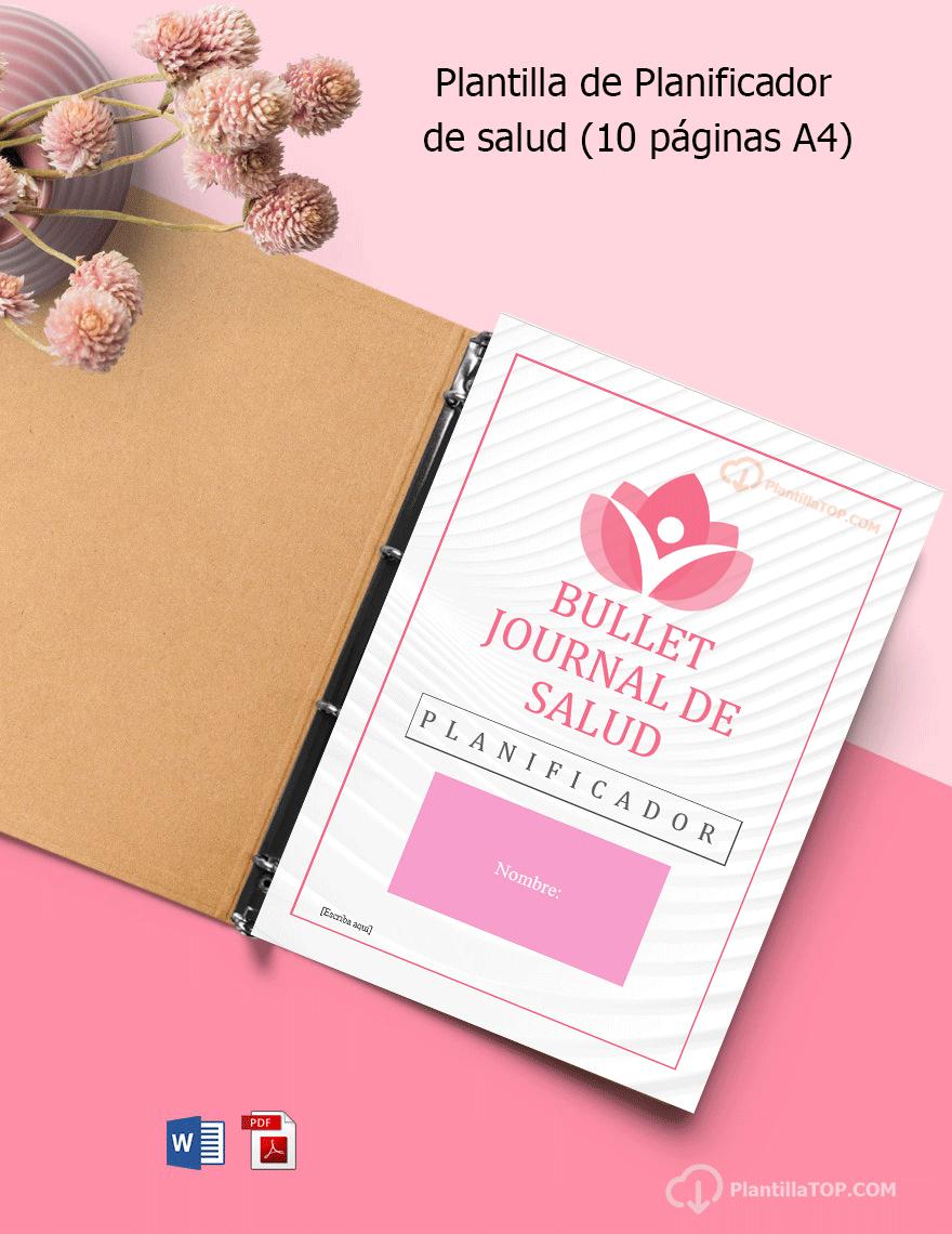 Bullet Journal de Salud