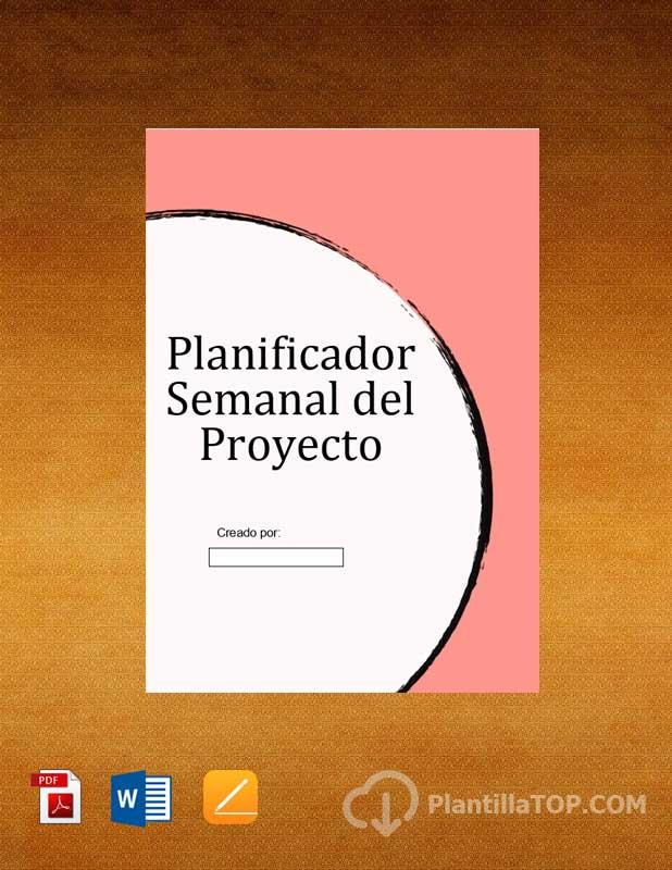 planificador semanal proyecto