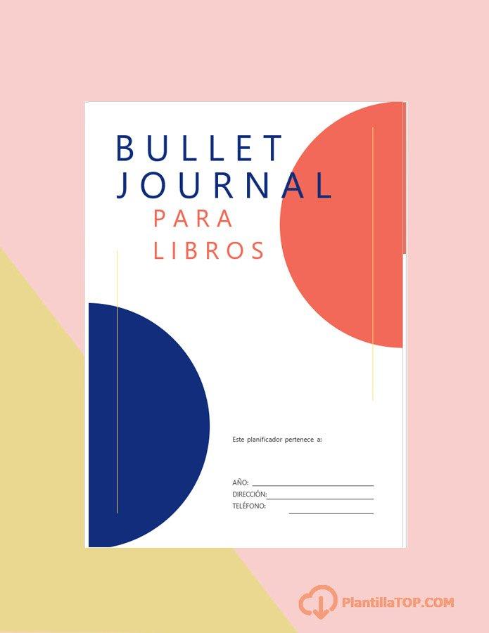 portada bullet journal libros