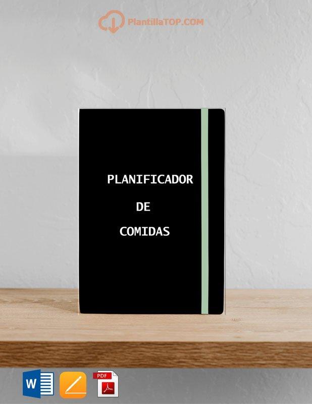 PLANIFICADOR DE COMIDAS MENSUAL