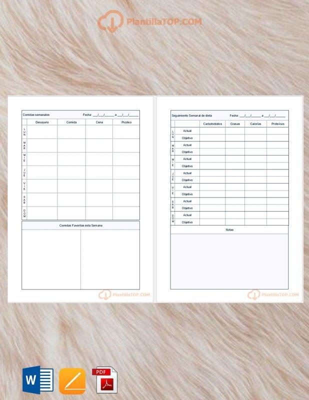 planning mensual de comidas
