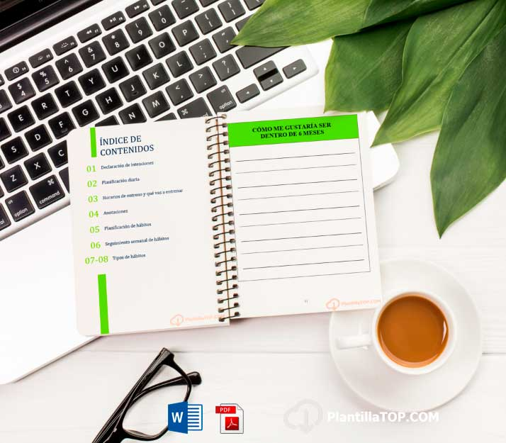 planificador agenda diario